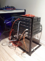DIY: My brothers network rack