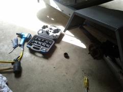 removing wheel