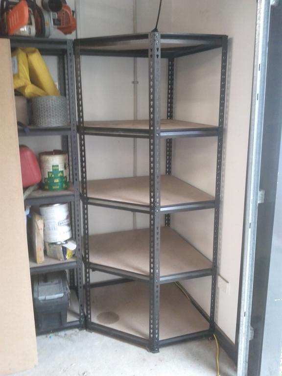 Replacing the corner shelf