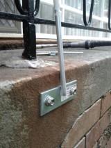 DIY: Repairing rusted balustrade andreinforcing