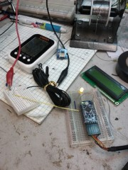 Prototyping the Arduino with a temp sensor