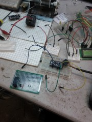 Meanwhile, Arduino is being shifted from breadboarding to a proper PCB