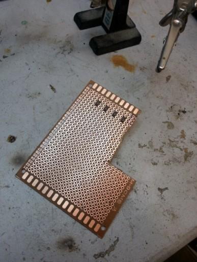 Circuit board prototype!