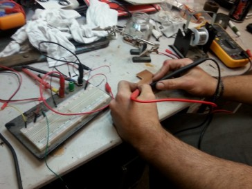 Testing with multimeter