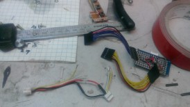 Making the wires for inside the enclosure
