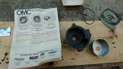 Impeller replacement housing.